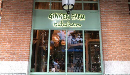 【チェンマイ・カフェ】Ginger Farm Kitchen(ジンジャーファームキッチン)【異空間】
