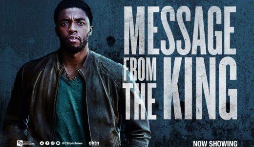 Netflix 映画『キングのメッセージ』Message from the king 感想まとめ【ネタバレなし】
