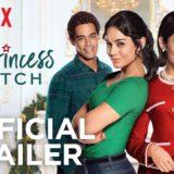 Netflix映画『スイッチング・プリンセス』ヴァネッサ・ハジェンズ主演のクリスマス物語