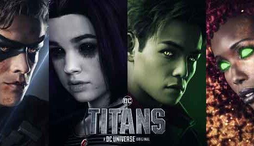 Netflix「TITANS/タイタンズ・シーズン1-8」のあらすじ・感想レビュー【90点】